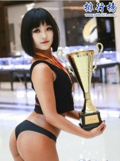 中国臀部最美的女人:19岁少女高倩 正面照曝光
