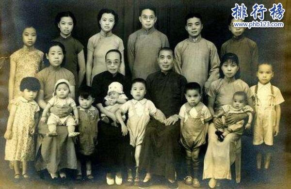 中国十大隐世家族,荣氏家族竟屈居第二