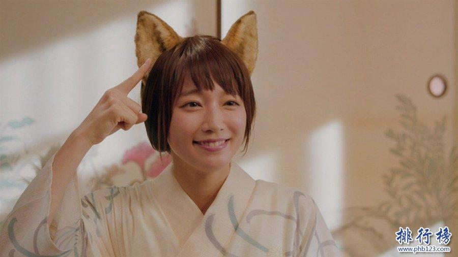2017日本爆红人气女明星前十名 吉冈里帆夺冠 第四名眼神销魂
