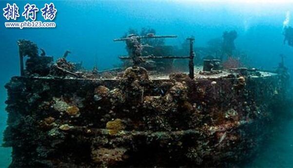 水中地狱特鲁克泻湖,日本海军和无数潜水者葬身于此