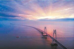 中國最長跨海大橋排名,中國十大跨海大橋長度排名