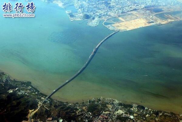 中国最长跨海大桥排名,中国十大跨海大桥长度排名