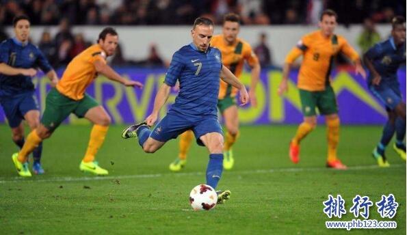 法国队VS澳大利亚队历史战绩(胜率、进球数)