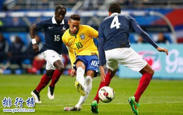 巴西队VS哥斯达黎加队历史战绩,巴西队VS哥斯达黎加队比分记录