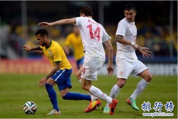 巴西队VS塞尔维亚队历史战绩,巴西队VS塞尔维亚队比分记录