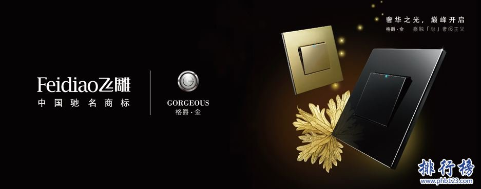 中国开关十大品牌排行榜,开关什么牌子好?