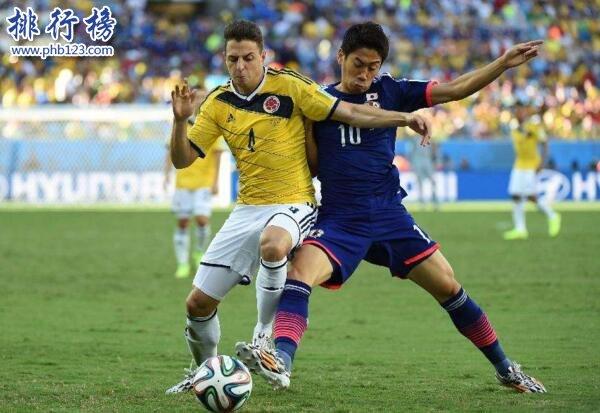 哥伦比亚队VS日本队历史战绩,哥伦比亚队VS日本队比分记录