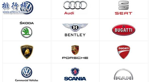 2017全球汽车品牌销量排行榜