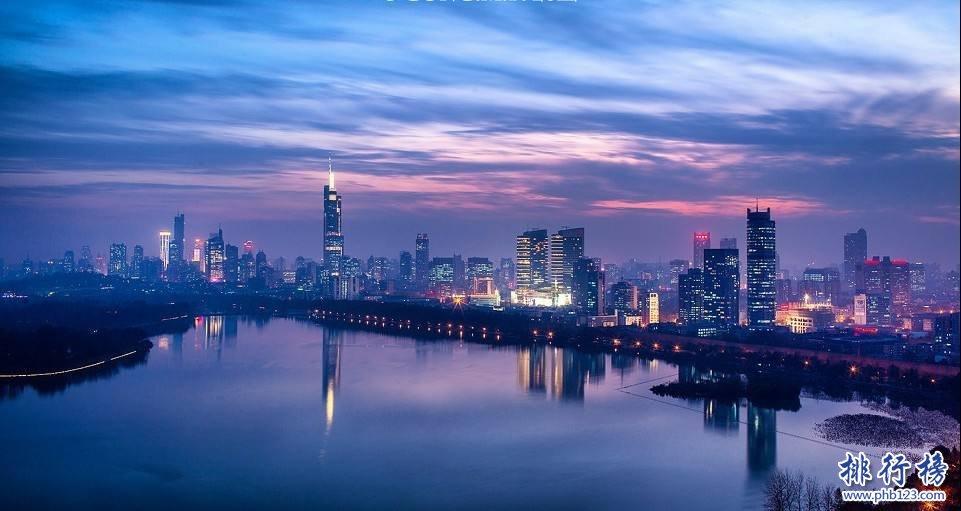 2017年12月南京各区房价排行榜:鼓楼区房价最高39703元/㎡