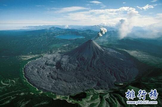 世界上最大的火山群,堪察加火山群(海拔4750m)