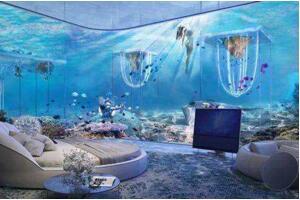 世界上最豪华的酒店排名:迪拜水下酒店,唯一十星级酒店