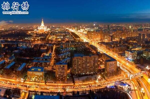 全球最富有的十大城市,东京位列第一GDP高达3.17万亿美元