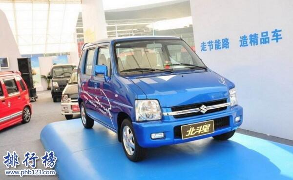 2017年11月微型车销量排行榜:铃木北斗星重返榜首,3款车型销量超四千