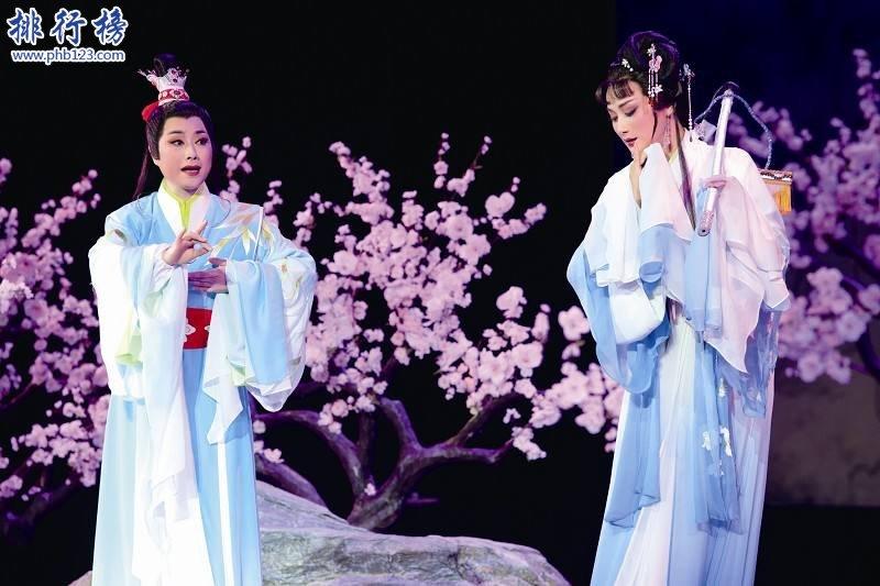 中国五大戏曲剧种:京剧、越剧、黄梅戏、评剧、豫剧