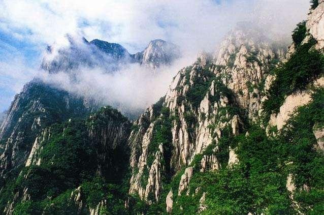 中国五大名山排行榜:恒山上榜,第五高度达2160.7米