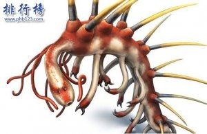 寒武纪十大恐怖生物:奇虾成地球霸主 恐龙是它晚辈