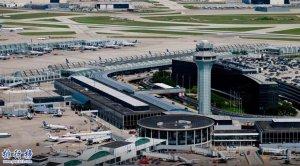 世界上跑道最多的机场:奥黑尔国际机场(曾生产C-54运输机)