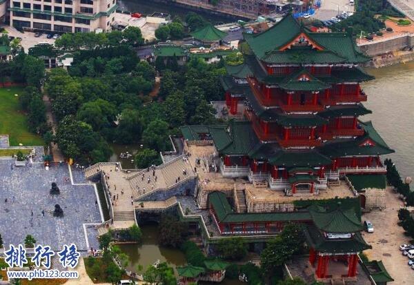 中国四大名楼:蓬莱阁 、滕王阁、黄鹤楼、岳阳楼