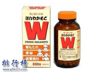 日本十大肠胃药排行榜
