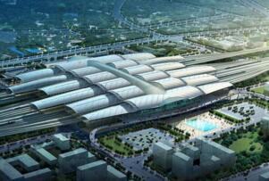 亚洲最大的火车站工程:广州新站,相当于1629个足球场(面积1140万㎡)