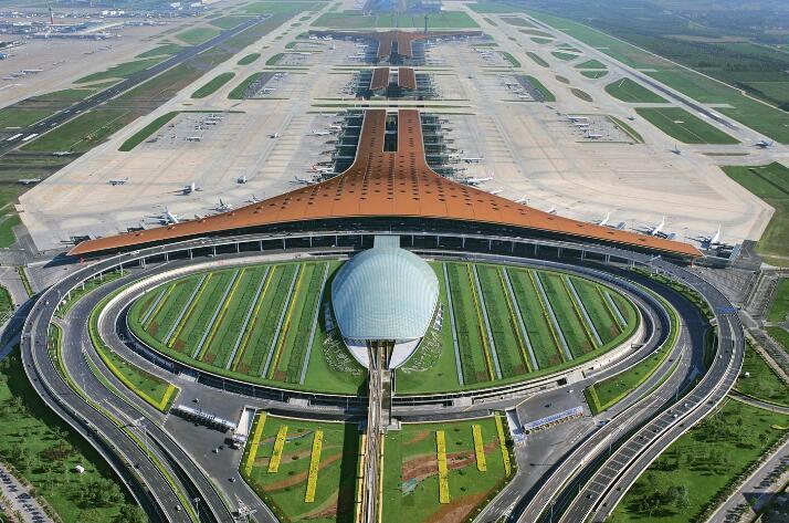 中国十大机场旅客吞吐量排名:浦东第二 首都机场吞吐量近亿