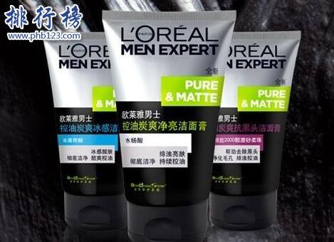 男士油皮用什么护肤品?拯救男士油性皮肤护肤品排行榜推荐