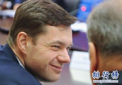 俄罗斯首富阿列克谢·莫尔达索夫
