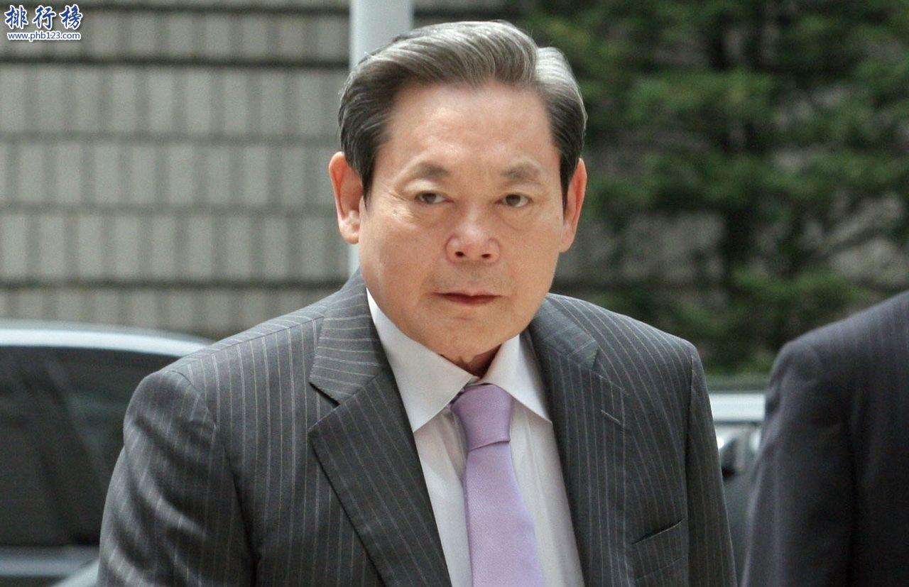 2018韩国富豪排行榜 韩国首富是谁?