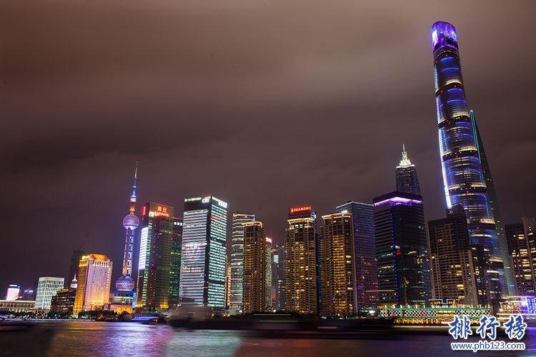 中国最高的建筑排名,中国最高的建筑有哪些
