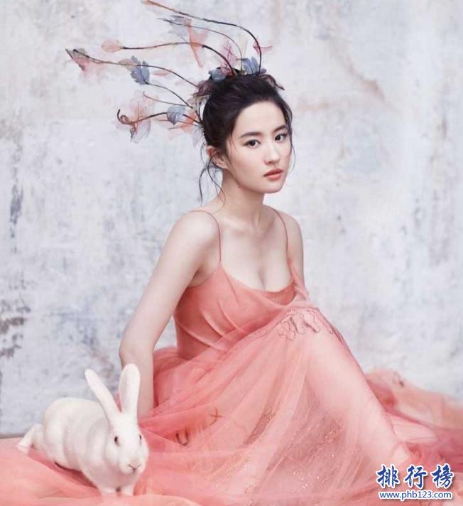 亚洲20位最美女神榜