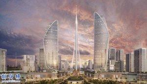 迪拜建世界最高塔:河港塔928米 盘点现今世界十大最高塔排行榜