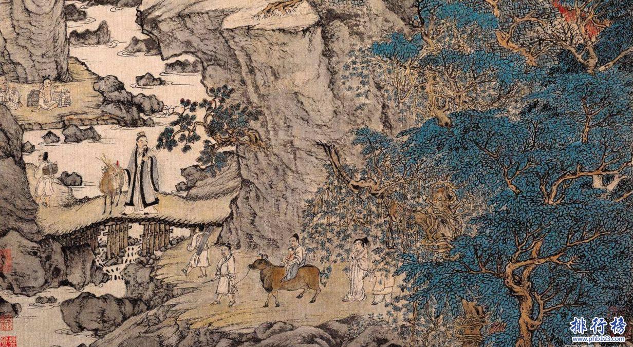 中国最贵的画价格排名:庐山观瀑图39.77亿