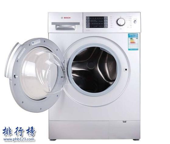 洗衣机十大品牌排名 什么牌子的洗衣机最好