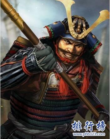日本战国时代十大武将排名 本多忠胜参战五十七次毫发无损