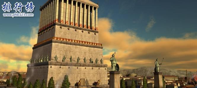 世界古代十大奇迹建筑排行榜:埃及胡夫金字塔排名第一