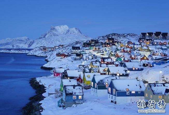 世界岛屿面积排名TOP50:第十名埃尔斯米尔岛仅有168人居住