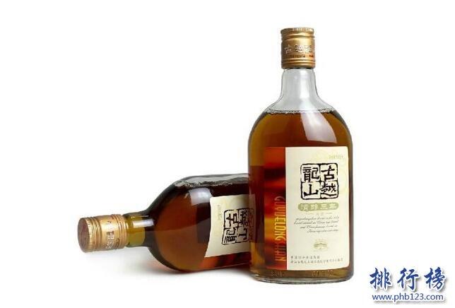 顶级黄酒品牌排行榜 黄酒排行榜前十名