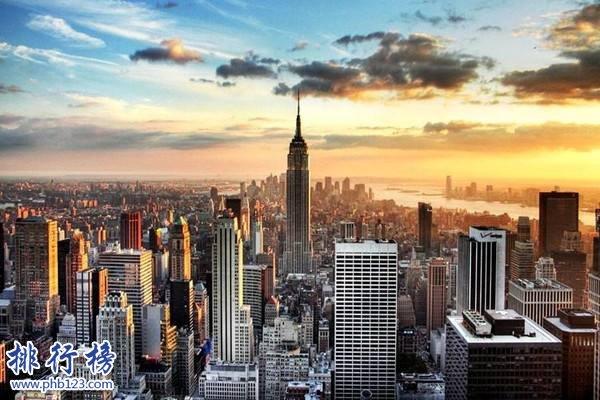 美国十大旅游景点排名 美国旅游必去的地方