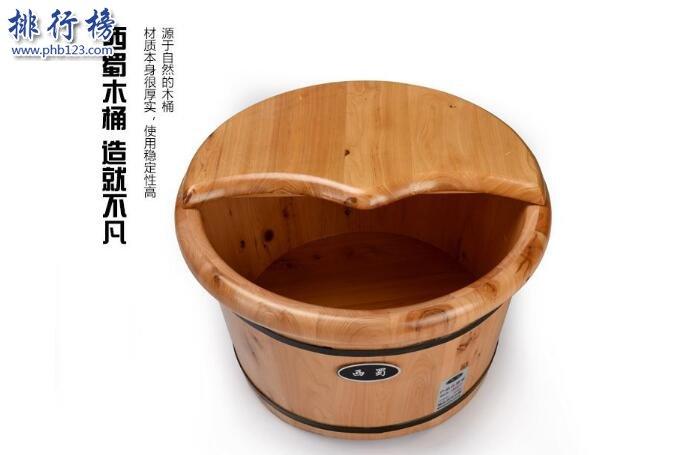 中国十大泡脚木桶品牌 足浴木桶哪个牌子最好