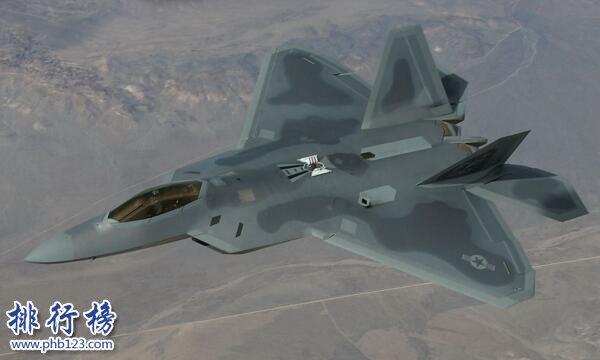 美国最先进的战斗机 美国最先进的战斗机排行榜 F-22性能无敌制霸空中