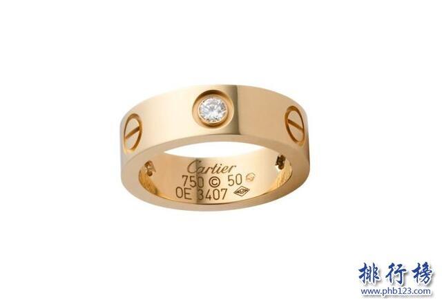 戒指哪个牌子好 戒指十大品牌排行榜