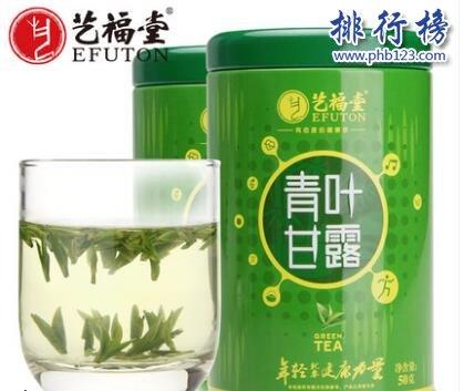好喝的绿茶牌子有哪些?绿茶十大品牌排行榜