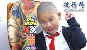 中国十大天才儿童;19岁拥有千万级公司,10岁破吉尼斯世界纪录