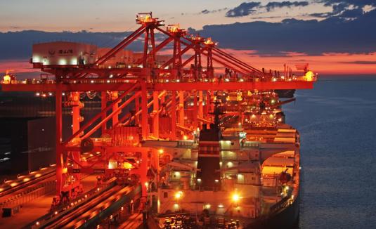 世界十大港口2018:舟山港吞吐量达七亿吨(中国七个上榜)