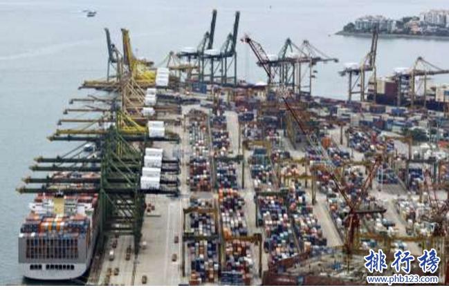 世界十大港口2018:港口排名中国占7个,稳居全球第一