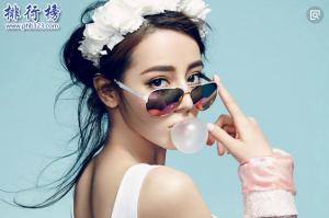 中国女明星颜值排行榜2018,范冰冰竟然只排第八