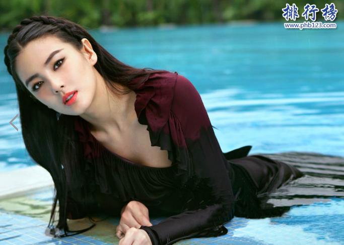 中国十大性感女星 第一实至名归