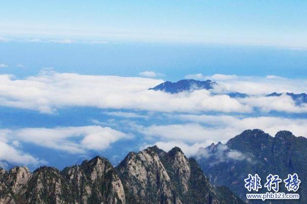 中国十大高山排名