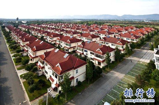 中国十大名村 第七名里有500多名千万富翁