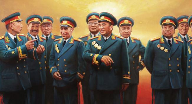 湖南亚洲久久无码中文字幕元帥,这些人民英雄你都知道几个?